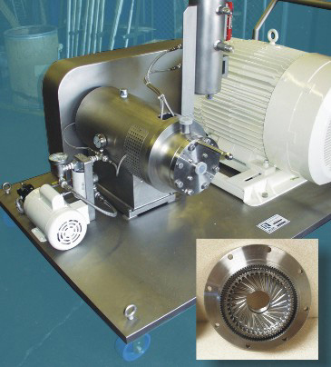 image of megashear ultra high shear mixer