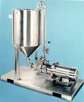 image of inline high shear mixer